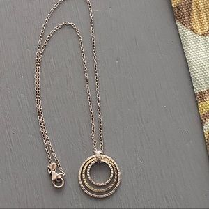 Silpada 925 Sterling Silver Circle Necklace